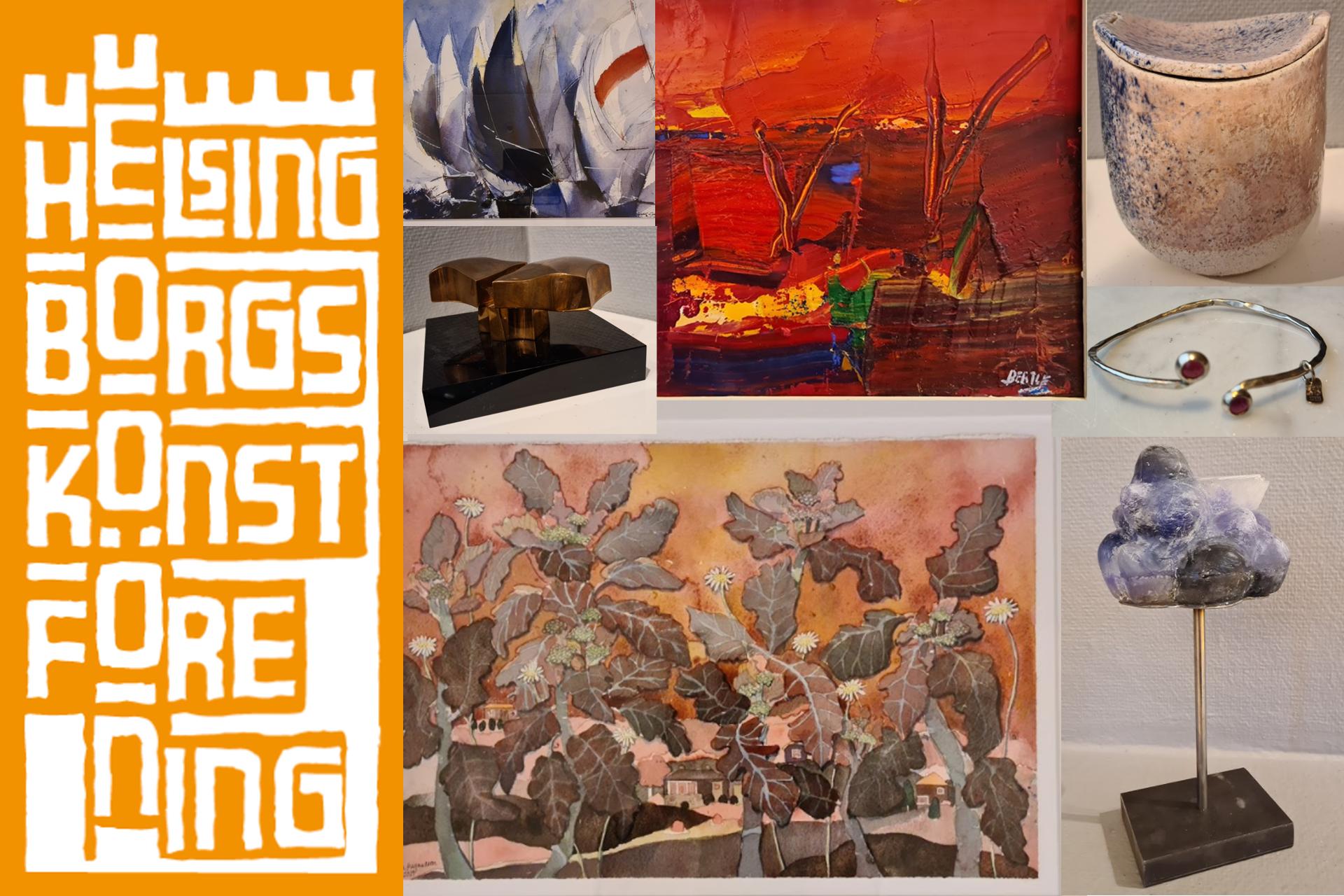 Konstlotteri Helsingborgs konstförening 2020