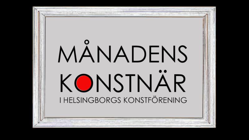 Månadens konstnär Helsingborgs konstförening